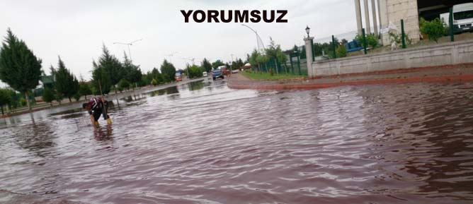 Malatya 1. Organize girii yamur sonras