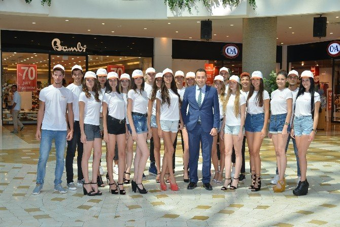 Miss & Mr Model Of Turkey finalistleri Optimum'da